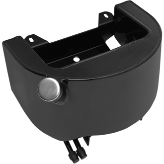 【07100162】 ブラック ソフテイル オイルタンク ハーレーパーツ