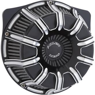 【10102308】 INVERTED SERIES 10GAUGE エアークリーナーキット ブラック 2018年以降ソフテイル 2017年以降ツーリング トライク ハーレーパーツ
