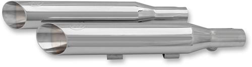 【550-0378】 S&S スリップオン パフォーマンスマフラー スポーツスターモデル用/スラッシュカット ハーレーパーツ