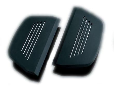 【7554】 PREMIUM パッセンジャーフロアボードインサート ハーレーパーツ