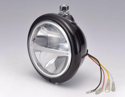 【HD-01512】 LEDハンガーマウントヘッドライト ハーレーパーツ