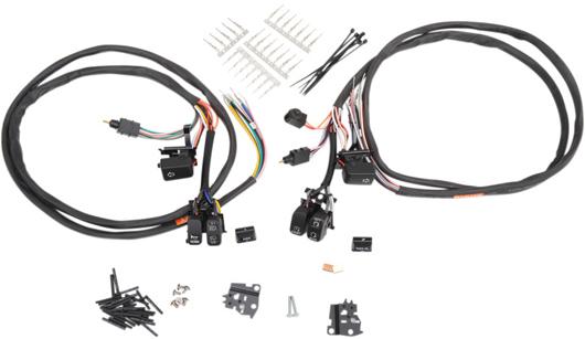 【06160201】 LED ハンドルバー スイッチキット ハーレーパーツ