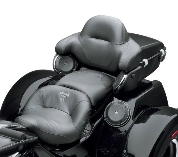 【52000201】 ロードツェッペリン・エアアジャスタブルシート:2008年以降ツーリングモデル、2009年以降トライグライドモデルに適合 ハーレー純正パーツ