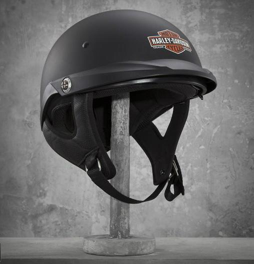 【ヘルメット】 Pioneer Sun Shield Half Helmet ハーレー アパレル