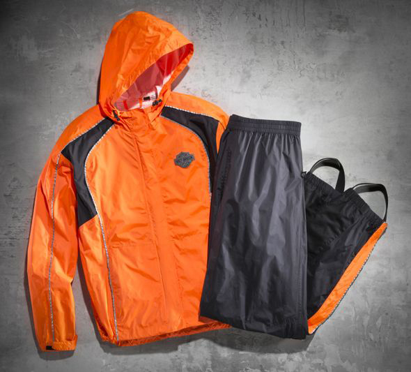 【98316-14vw】Hi-Vis Rain Suit オレンジ ハーレーアパレル