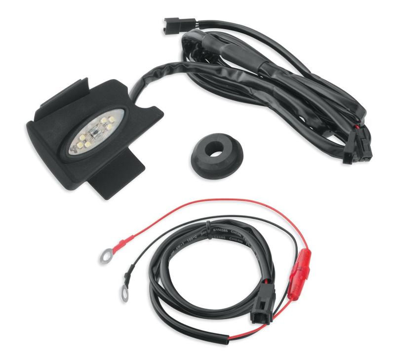 【68000152】ツアーパック/サドルバッグ インテリアライトキット 1ライト・ツアーパックライトキット ハーレー純正パーツ