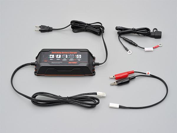 【95027】 スイッチングバッテリーチャージャー 回復微弱充電器 ハーレーパーツ