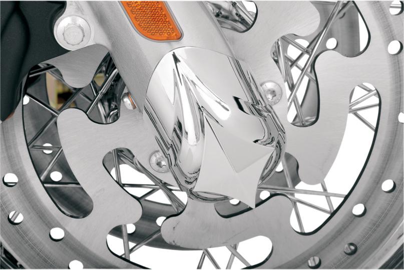 ハーレーカスタムパーツ フロントエンド 02140452 ハーレーパーツ アクスルカバー:Diamond ブランド品 ロワーレッグ 上質