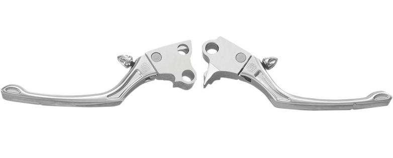 【06100605】 RSD REGULATOR ブレーキ&クラッチレバー/クローム ハーレーパーツ