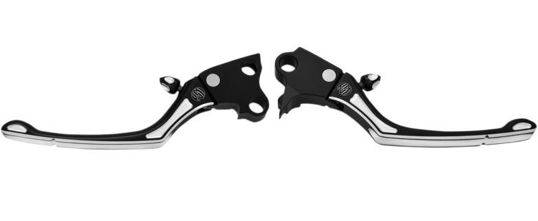 【06100822】 RSD REGULATOR ブレーキ&クラッチレバー/コントラストカット ハーレーパーツ