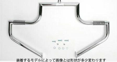 【16240285】 エンジンガード ラインバー グロッシーブラック ハーレーパーツ