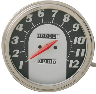 【DS243883】 FLスタイル スピードメーター:62-67face ハーレーパーツ