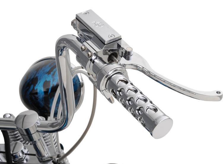 【DS290801】 クラシック ハンドルバーコントロール/5/8ボア:ブレーキマスター ハーレーパーツ