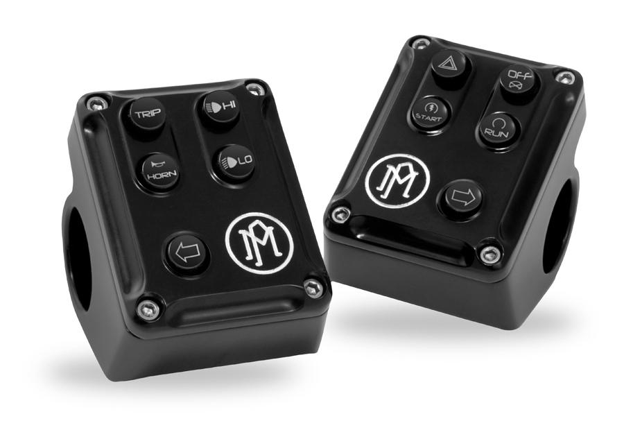 【PM3085】 Contour CAN BUS CONTROL スイッチハウジング/コントラストカット ハーレーパーツ