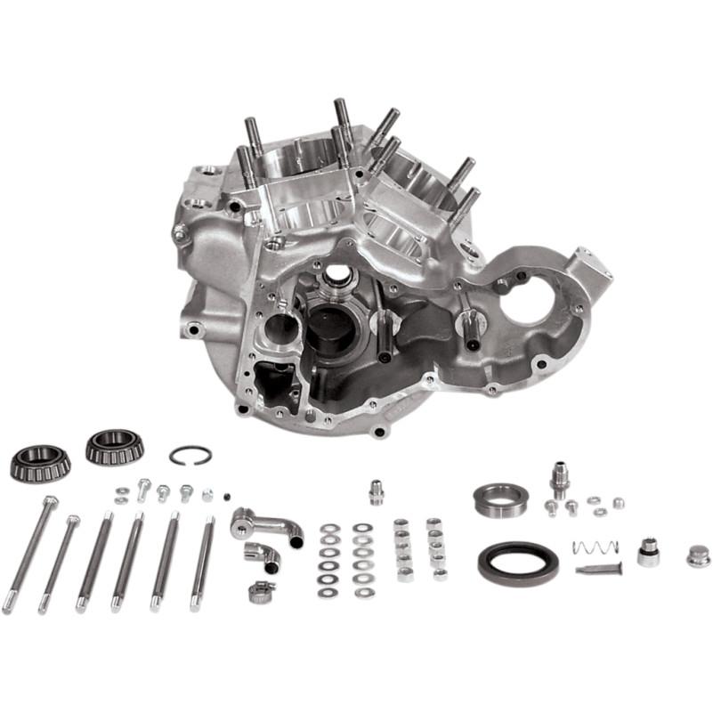 【310010】 SUPERSTOCK ジェネレーターエンジンケース:1965~69年ビッグツインモデルに適合