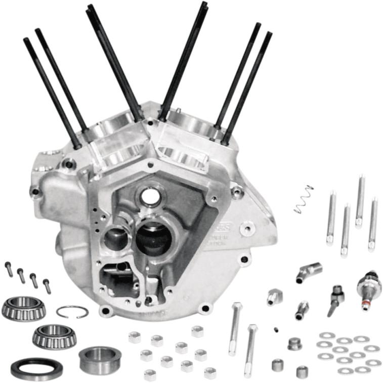 【DS194304】 SUPERSTOCK エンジンケース:1984~91年エボビッグツインモデルに適合/