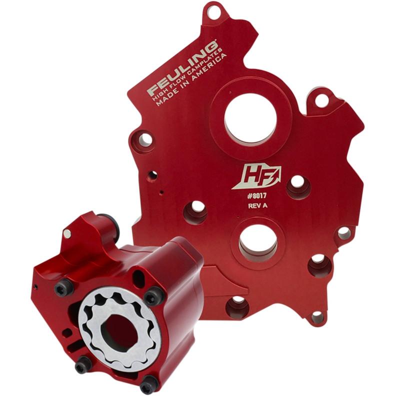 【09320231】 RACE SERIES オイルポンプ カムプレートキット:2017年以降M-EIGHTモデルでツインクールドエンジンに適合