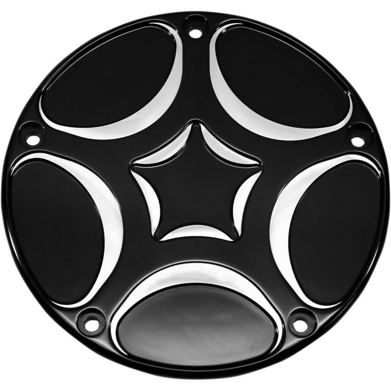 【11070505】 SPIRO ダービーカバー:2016年以降ツーリング、トライクモデル、2015年FLHTCUL、FLHTKLに適合/ブラック