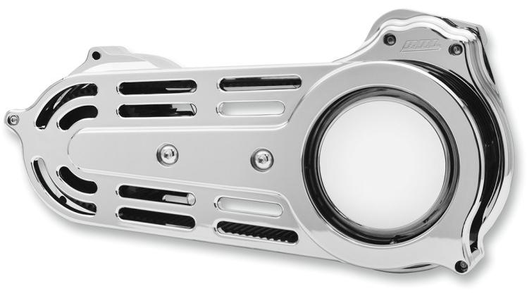 """【11200307】 2""""ベルトドライブキット チェンジャブルドーム付き:2007~17年ソフテイルモデルに適合 (但しFXSB/SE、FXCW/Cは除く)/クローム"""