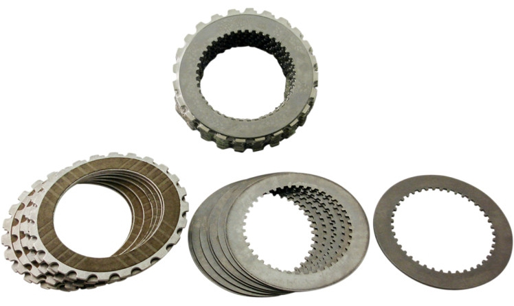 【11312455】 BDL ベルトドライブ リプレイスメントコンポーネント:Complete clutch kit(fibers and steels) for EV、EVO、EVB belt drives