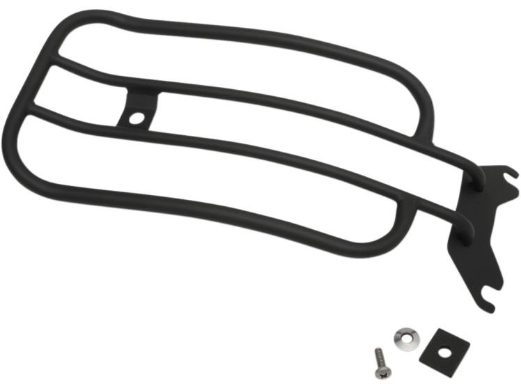 """【15100421】 7""""ワイドタイプ ラゲッジラック ソロシート用 マットブラック:2018年以降FLFBに適合"""