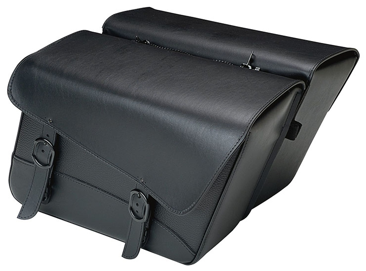 【35010592】 COMPACT BLACK JACK サドルバッグ:汎用品/スタンダード:高さ27.9cm 長さ40.6cm 幅16.5cm