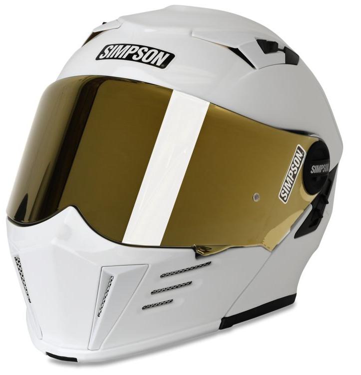 【m59xs1】 Simpson MOD Bandit - WHITE ホワイト ハーレーアパレル