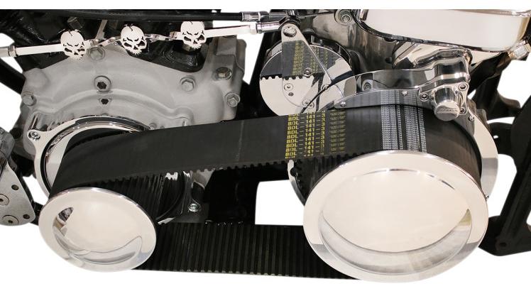 """【11200418】 3""""SHORTYベルトドライブキット ELECTRIC START:1970~78年ビッグツインモデルに適合 (但しロータリートップトランスミッションは除く)/スターター付き"""