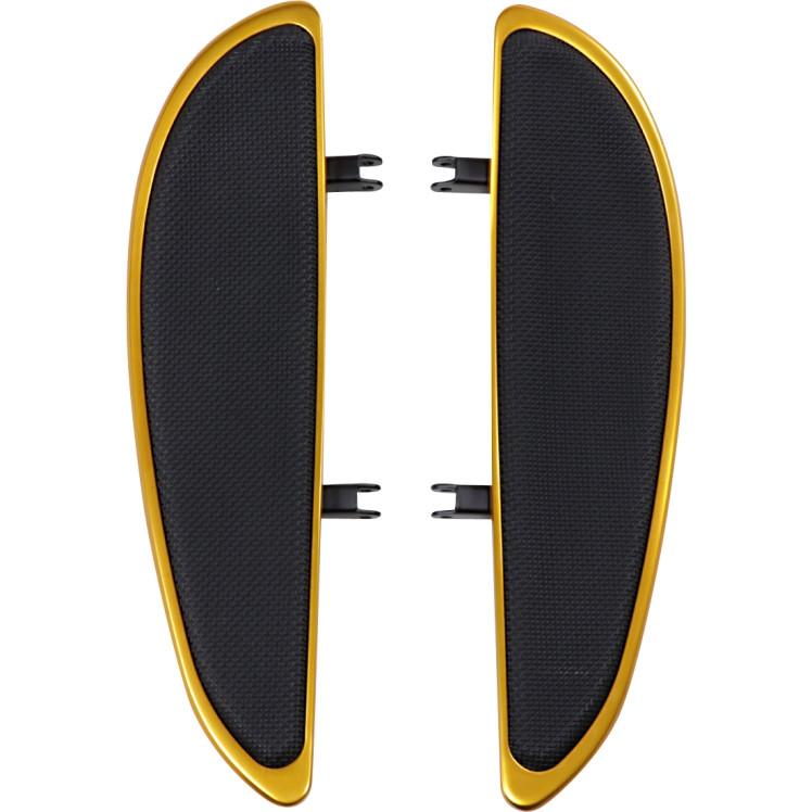 【16210927】 バナナ フロアーボード ゴールド:リベット無し/長さ14インチ (35cm)