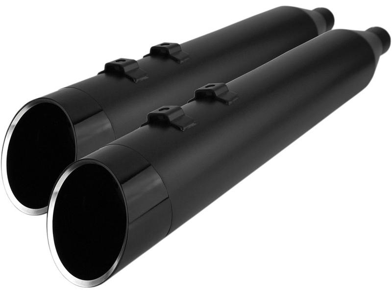 【18011447】 Khrome Werks 4.5インチ HP-Plusマフラー エッジティップ:/ブラック