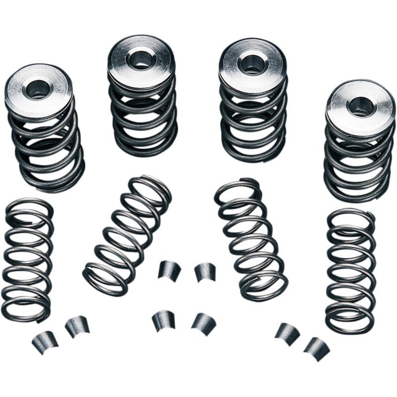 "【DS199044】 MANLEY バルブスプリングキット:steel collars (stock stem valves) .550""lift max"
