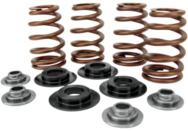 """【09260690】 BEEHIVE バルブスプリングキット:2005~17年ツインカムモデルに適合/.650"""" lift 、 for 7mm valve stem"""