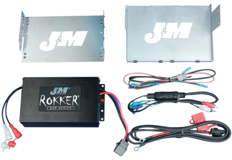 【44050506】 350W ROCKER アンプキット:2006~13年FLHT/FLHXモデルに適合