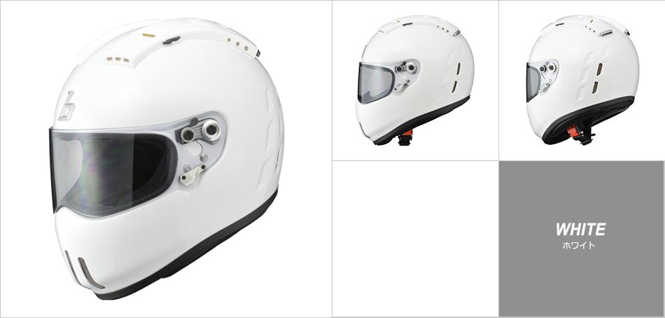 【bredra2】 BREEZ DRAGGER フルフェイスヘルメット ホワイト、ハーフマットブラック
