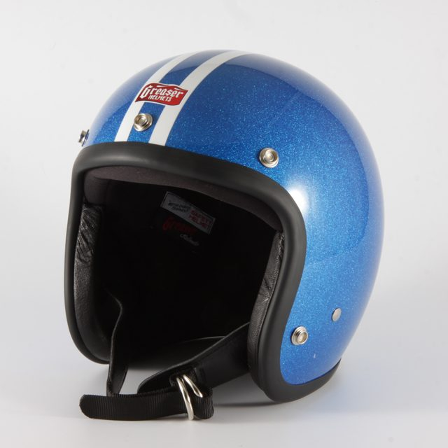 "【hgs2lbl】 2LINE ""FLAKE ブルー"" M(57~58cm)/L(59~60cm)※帽体は全サイズ共通。"
