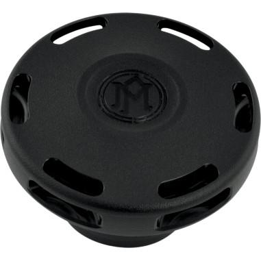 ハーレーカスタムパーツ _タンクキャップ 07030837 ガスキャップ:ブラックOPS ディスカウント APEX 新商品!新型