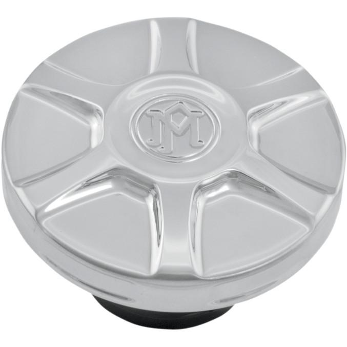 ハーレーカスタムパーツ _タンクキャップ 07030839 登場大人気アイテム ARRAY 驚きの値段 ガスキャップ:クローム
