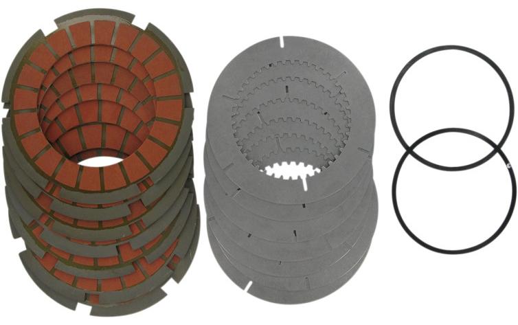 【11310160】 クラッチプレートキット SCORPION ビレットクラッチキット用:1936~E84年ビッグツインモデルでSCORPION ビレットクラッチキット(品番:DS223723)装着に適合