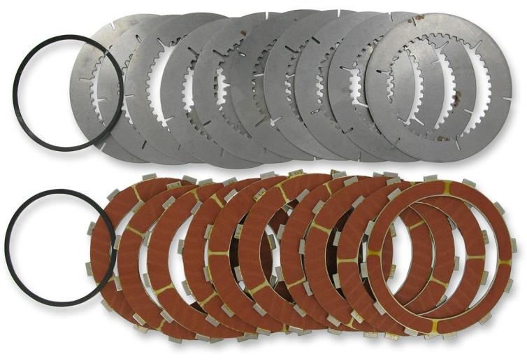 【11310162】 クラッチプレートキット SCORPION ビレットクラッチキット用:1998~10年ビッグツインモデルでSCORPION ビレットクラッチキット(品番:DS223720、11300011、11300137)装着に適合