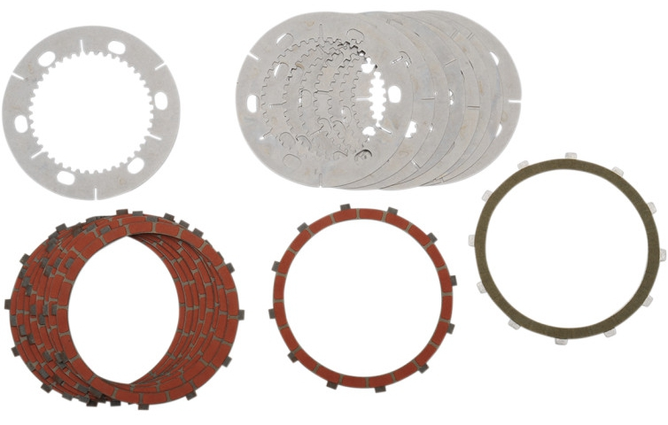 【11310165】 クラッチプレートキット SCORPION ビレットクラッチキット用:1971~E84年スポーツスターモデルでSCORPION ビレットクラッチキット(品番:DS223468)装着に適合