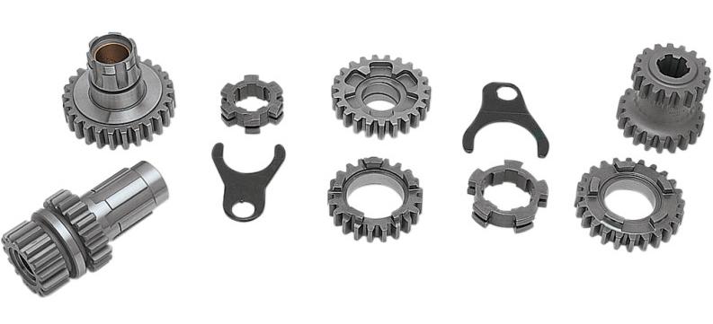 【DS194498】 4-SPEED ギアセット:1977~E84年ビッグツインモデルに適合/CLOSE RATIO SET (2.44:1 first gear / 1.35:1 third gear)