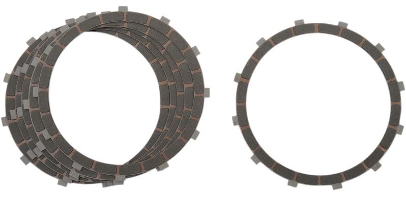 【DS223731】 CARBON FIBER クラッチプレート:L1984~89年ビッグツインモデルに適合:6枚入り/37931-84