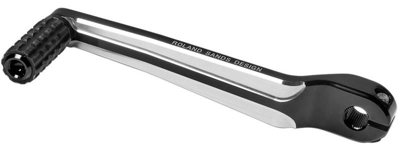 【16021163】 RSD シフトレバー:コントラストカット/1999年以降ツーリング、トライクモデル、2000~17年FLソフテイルモデルに適合