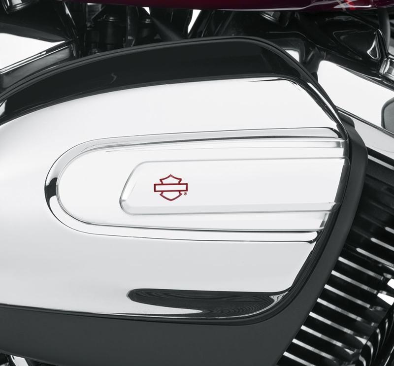 【61300991】 カフナ クローム エアクリーナートリム:2017年以降ツーリング、トライクモデルで標準装備エアクリーナーカバー装着車に適合 (但しCVOモデルは除く)
