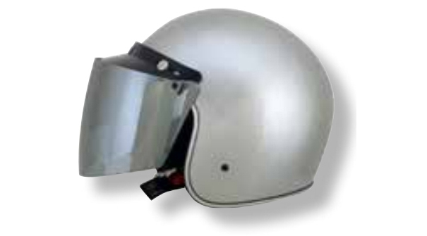 AFX 3-Snap Flip Shield Silver