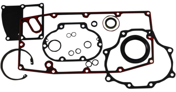 【09345973】 トランスミッション ガスケット&シールキット:2017年以降ツーリングモデルに適合/33031-17