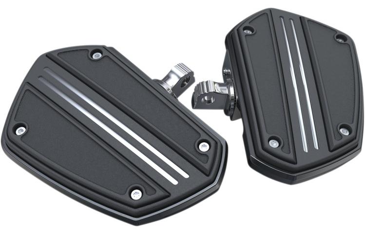 【16210894】 TWIN RAIL ミニフロアボード:オス型マウントタイプ/ブラック