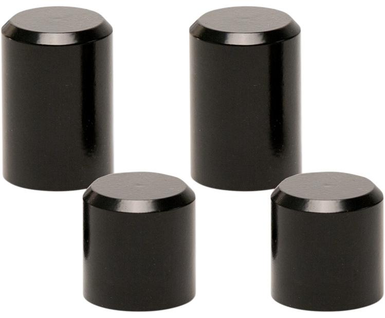 【35500297】 ビレット ドッキングステーションカバー:Black Smooth/2009年以降ツーリングモデルでハーレー純正4ポイントドッキングハードウェア装着車に適合