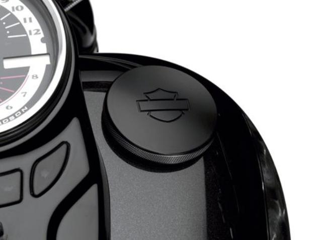 日本製 ハーレー純正パーツ 新色 タンク周り 61100126 フュエルキャップ: ダイヤモンドブラックコレクション
