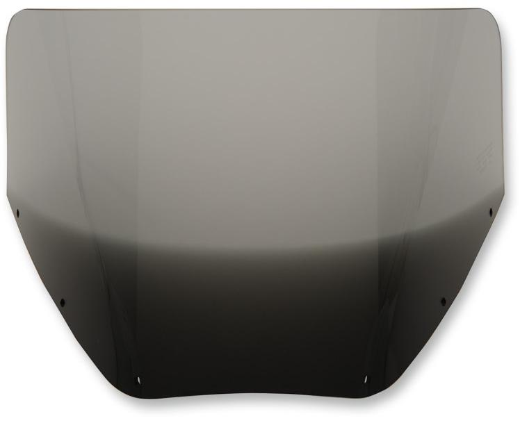 【23500446】 SOLID ウインドシールド ROAD WARRIOR フェアリング用:Black Smoke/高さ:11インチ